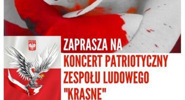Koncert patriotyczny w Krasnem - zaproszenie