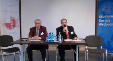 Dr Andrzej Biały na międzynarodowej konferencji naukowej w Grodnie