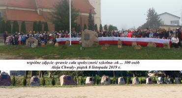 Akcja Szkoła do hymnu w powiecie przasnyskim [Zdjęcia]