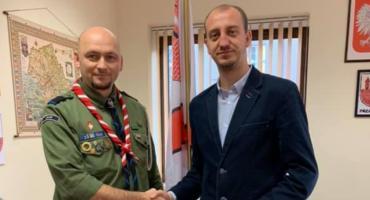 Jacek Klinger nowym komendantem Hufiec ZHP w Przasnyszu