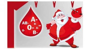 Mikołajkowe oddawanie krwi w Jednorożcu