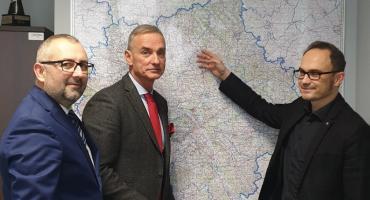 Starosta Bieńkowski w GDDKiA w Warszawie rozmawiał o rondach i obwodnicy Przasnysza