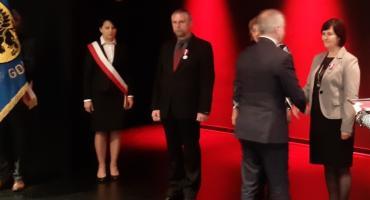Janina Wenta nauczycielka SP Gowidlino z odznaczeniem prezydenckim