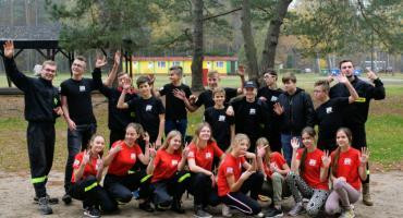 Młodzi strażacy z OSP Miechucino doskonalili swoje umiejętności w Garczynie