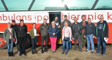Rekordowa akcja oddawania krwi przy parafii św. Marcina w Sierakowicach