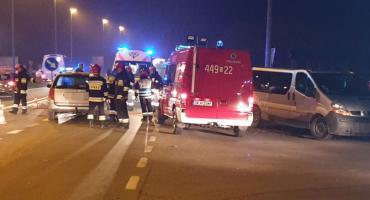 Zderzenie dwóch pojazdów w Egiertowie