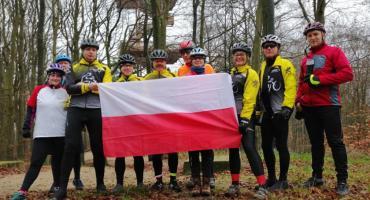 Grupa Rowerowe Kaszuby świętowała odzyskanie przez Polskę Niepodległości