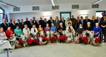 Złote i diamentowe pary z gminy Stężyca uhonorowane