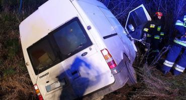 Wypadek w Kameli - kierowca w szpitalu