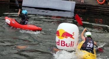 Złota Góra. Strawberry Kayak Games w strugach deszczu