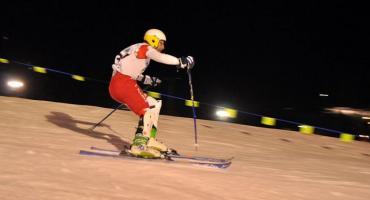 Narciarze ścigali się w Pucharze Wieżycy w Slalomie w Koszałkowie