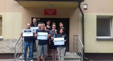 Kartuzy. Pracownicy Powiatowej Inspekcji Weterynaryjnej włączyli się do ogólnopolskiego protestu