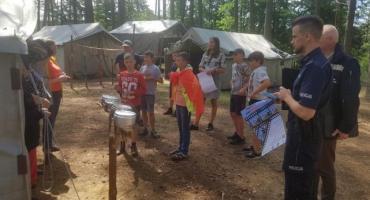 Policjanci skontrolowali obozy harcerskie