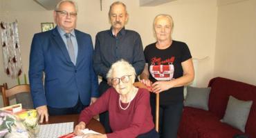 Halina Radomska z Goręczyna świętowała 95. urodziny