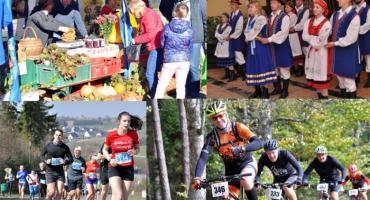 Weekend ze zmaganiami sportowymi, targiem ekologicznym i jubileuszem Chmielan