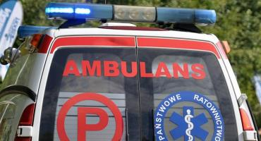 Wypadek w Sierakowicach - rowerzystka w szpitalu