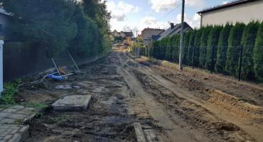 Rozpoczęły się prace budowlane ul. Kasztanowej w Żukowie