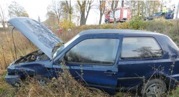 Kolejny wypadek na skrzyżowaniu w Małym Klinczu