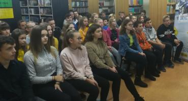 Spotkanie autorskie ze sportowcem Andrzejem Guzińskim w Wielkim Klinczu