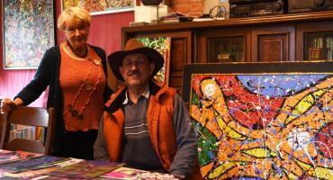 Wiesław Grzech. Tańczący z pędzlami - niezwykły świat sztuki mistyka i wizjonera
