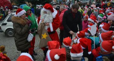 Spotkanie z Mikołajem na kościerskim Rynku