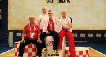 Dominik Kozłowski z brązem ME i nowym rekordem Polski