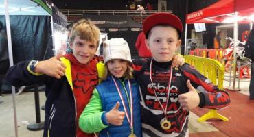 Udany debiut Maksa Onasza na zawodach motocrossu w Holandii