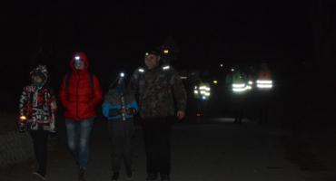 Około 200 osób wyruszyło w Ekstremalną Drogę Krzyżową z Osady Burego Misia