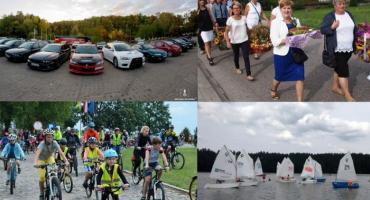 Ostatni wakacyjny weekend z dożynkami, rajdem rowerowym, regatami, czy Zlotem MitsuManiaków