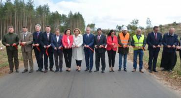 Droga powiatowa Lipusz-Tuszkowy oficjalnie oddana do użytku