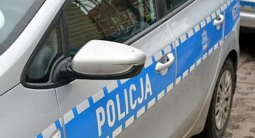 Dachowanie w Kaliszu, zderzenie dwóch pojazdów na Kamiennej Górze