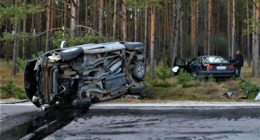 Wypadek w Skoczkowie - sześć osób w szpitalu