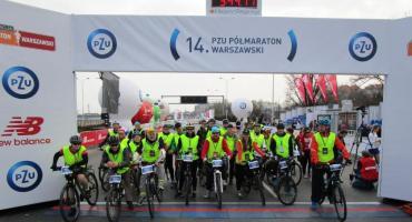 14 PZU Półmaraton Warszawski oczami wolontariusza.