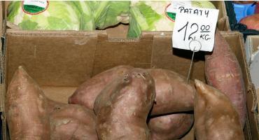 Patat zwany słodkim ziemniakiem
