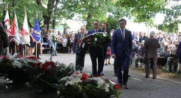 Uroczyste obchody 74 rocznicy wywózki mężczyzn z Włoch do Rzeszy