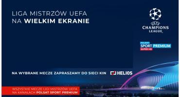 Liga Mistrzów UEFA na ekranach kin Helios!