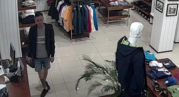 Poszukiwany mężczyzna zamieszany w kradzież