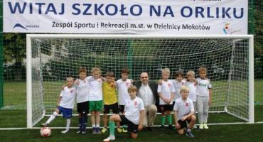 Start Orlika przy ul. Kazimierzowskiej 58, czyli UKS Orliki Mokotów otwiera nowy sezon