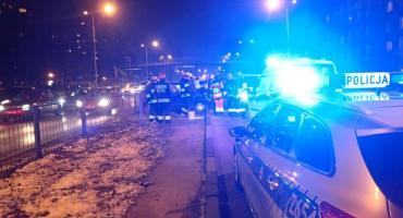 Zderzenie czterech aut na ulicy Czerniakowskiej – fotorelacja straży pożarnej