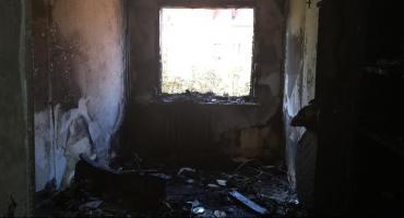 Pożar w bloku na ul. Kolberga. Nie żyje mężczyzna [FOTO]