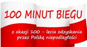 100 minut biegu z okazji 100-lecia odzyskania przez Polskę Niepodległości