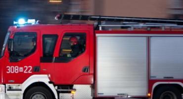 Tragiczny pożar domu jednorodzinnego. Nie żyje mężczyzna