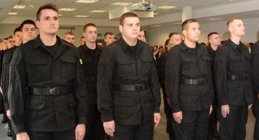 Ślubowanie nowo przyjętych policjantów [FOTO]
