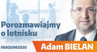 Porozmawiaj o lotnisku z Adamem Bielanem