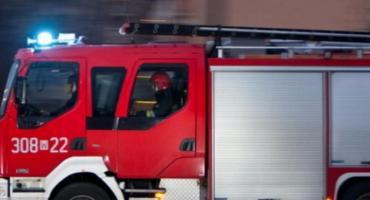 Pożar na Potkanowie. 5 osób trafiło do szpitala
