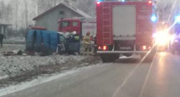 Groźny wypadek w Myśliszewicach [FOTO]