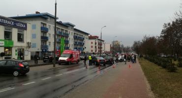 Groźny wypadek na Zbrowskiego [FOTO]
