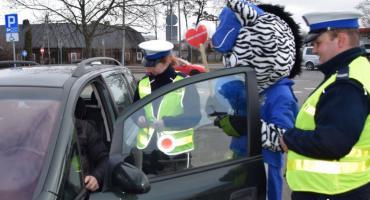 Walentynki z policjantami drogówki