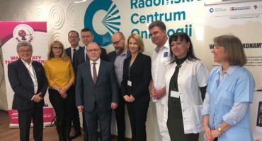 Wizyta Wojewody Mazowieckiego w Radomskim Centrum Onkologii