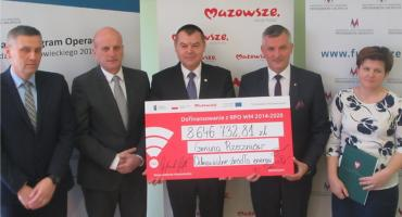 Ponad 8,6 mln zł z UE na odnawialne źródła energii dla Rzeczniowa, Ciepielowa i Solca nad Wisłą